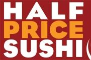 Stir Fry Cafe Half Price Sushi Banner